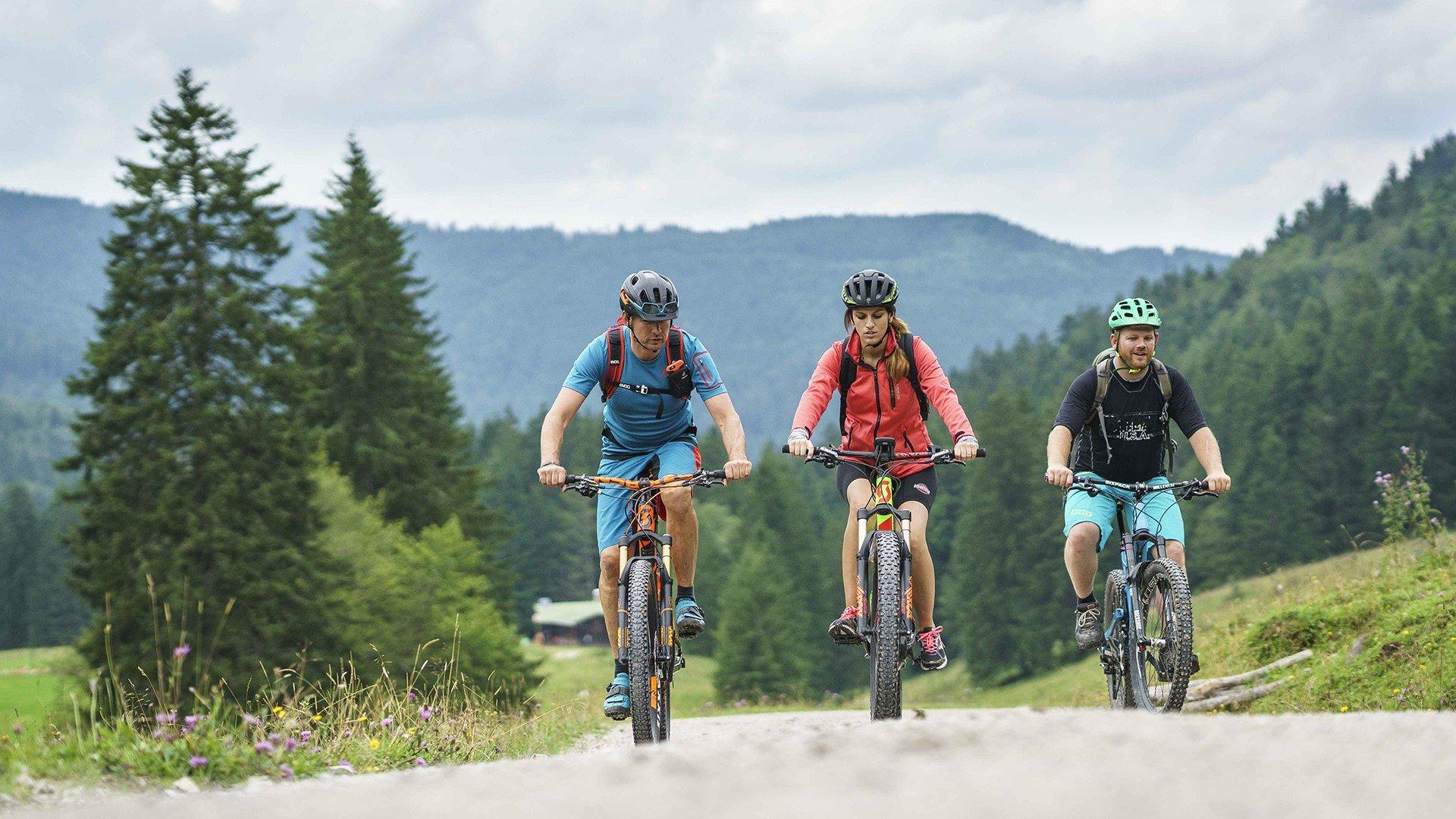 Radfahren Fischbachau, © Dietmar Denger