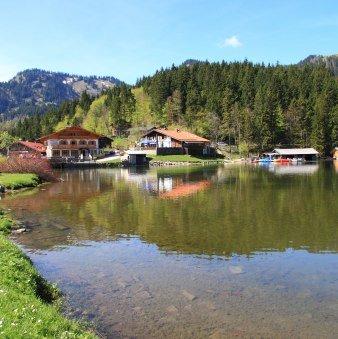 4 Tage Hüttenwanderung von Bad Wiessee über die Blauberge an den Spitzingsee