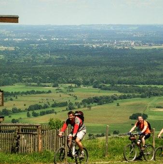 "Leitzachtal - Jenbachtal - Auerberg (Tour Nr. 14a aus dem ""RadlTraum Süd"")"