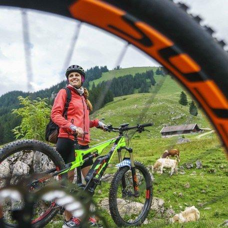 Mountainbike Alm Fischbachau, © Dietmar Denger
