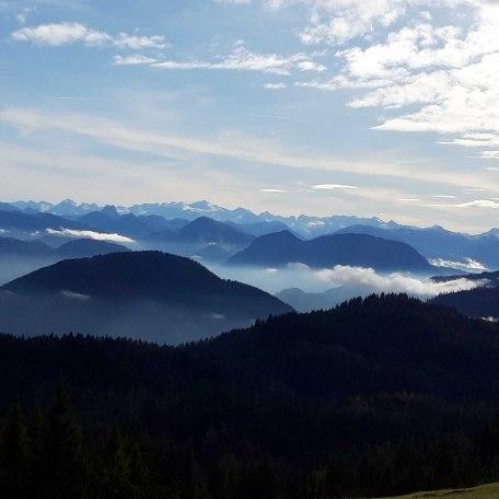 Morgenstimmung in den Bergen, © im-web.de/ Touristinformation Fischbachau