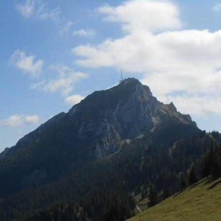 Der Wendelstein - vom Haus aus zu Fuß in 3,5 Stunden bis zum Gipfel (oder mit der Seilbahn ab Osterhofen in 7 Minuten), © im-web.de/ Touristinformation Fischbachau